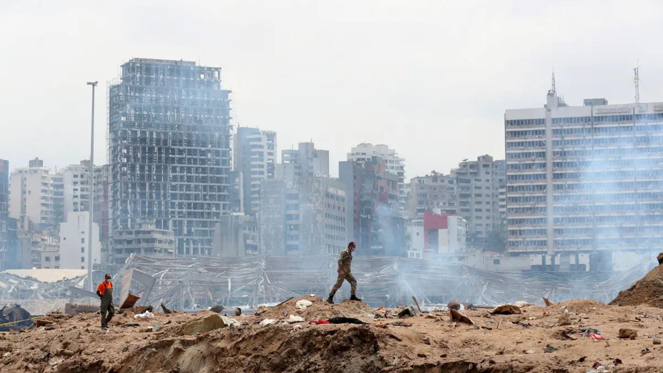 Beirut blast: Lebanon's crisis hotline witnesses surge in calls as anniversary nears