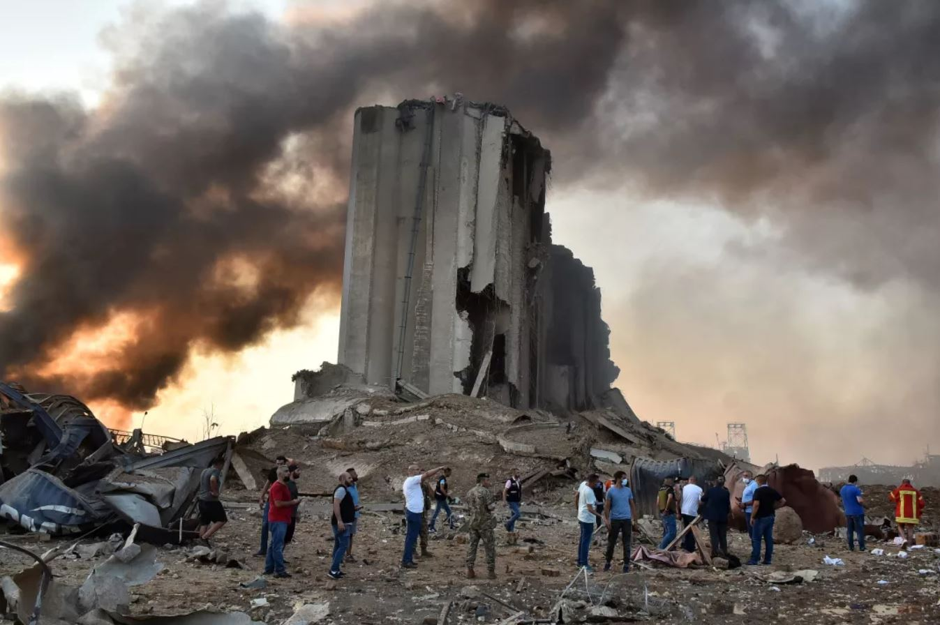 Once, they were symbols of promise. The Beirut blast turned them to monuments of despair